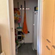 Vorratsraum bei der Küche